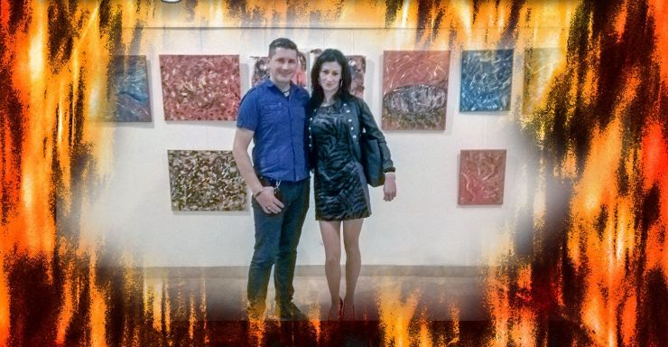 Expoziție de pictură abstractă la Castelul Károlyi